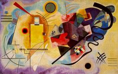 Amarillo-Rojo-Azul ( Kandinsky 1925) Centro Pompidou (París)