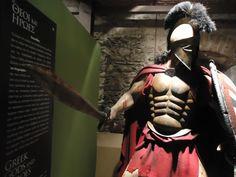 Leonidas sculpture