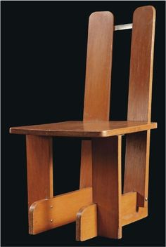 Piet Zwart's Montessori chair, 1937