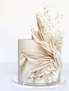 Pretty Wedding Cakes, Creative Wedding Cakes, Elegant Wedding Cakes, Wedding Cake Designs, Pretty Cakes, Cake Wedding, Best Wedding Cakes, Textured Wedding Cakes, Wedding Themes