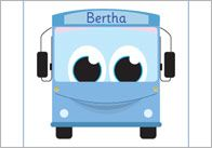 Berth Bus, the DfE's phonics character, travels to the zoo and meets lots of different animals along the way. Teaching Phonics, Preschool Literacy, Literacy Skills, Preschool Ideas, Phase 1 Phonics, Alliteration, Phonological Awareness, Early Readers