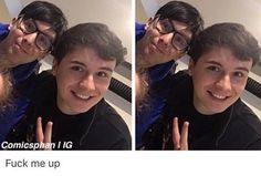 Fuck me up inside // can't fuck up<<< another fan cut out for Phan sake lol