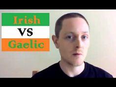 Bitesize Irish Gaelic: Irish vs Gaelic (the difference between Gaelic, Irish Gaelic, Gaeilge, Irish and Irish Languages) Scottish Gaelic, Gaelic Irish, Irish Gaelic Language, Best Of Ireland, Irish Catholic, Irish Culture, Irish Pride, Irish Roots, Looks Black