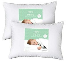 Celeep Baby Toddler Pillow Set - 13 x 18 Inches Organic Toddler Bedding Small Pillow - Baby Pillow with Natural Cotton Cover - Baby Small Pillows, Baby Pillows, Kids Pillows, Baby Bedding, Bedding Sets, Decorative Pillows, Best Pillow, Pillow Set, Toddler Pillow