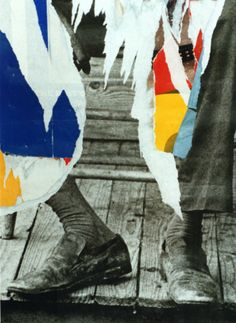 Dorthy Bohm, Torn Poster, London, 1997, Photo50 at London Art Fair