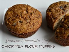 Banana Chocolate Chip Chickpea Muffins (Gluten Free/ Grain Free/ Vegan/ Dairy Free/ Nut Free) | SANDI\'S ALLERGY FREE RECIPES