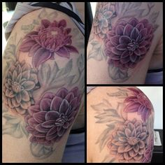 Getting my Dahlia tattoo so soon!!! My appointment is June 1st 2015!!!! Yay!