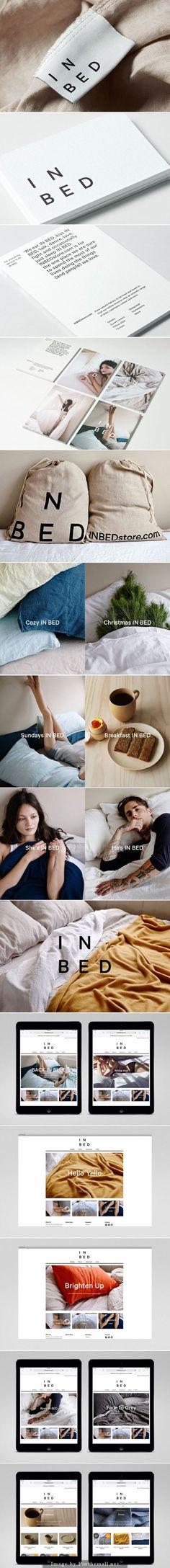 In Bed | Moffitt.Moffitt. Branding identity logo style design www.noemialvarez.com