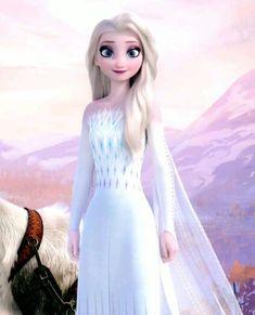 Frozen Disney, Elsa Frozen, Princesa Disney Frozen, Frozen Movie, Foto Frozen, Frozen Songs, Princess Anna Dress, Disney Princess Dresses, Queen Dress