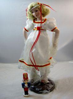 Vintage Clara Nutcracker Suite Doll Porcelain by EclecticVintager,
