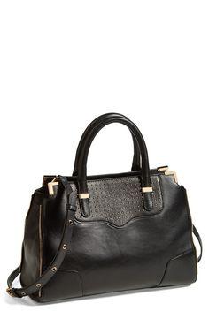 Dear gorgeous studded satchel, please get on my arm!