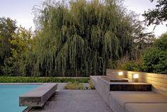 Garden Furniture, Outdoor Furniture Sets, Outdoor Spaces, Outdoor Decor, Pool Houses, Garden Inspiration, Garden Landscaping, Terrace, Garden Design
