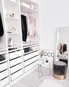 Closet Organization Ideas - Arrange your closet for much less with these DIY organization and also storage space ideas. A lot of these closet organization ideas are excellent for tiny storage rooms ... #closetorganization #closetideas #closetorganizationhomedepot