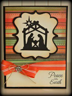 Tracy's Cricut Corner: Nativity Christmas
