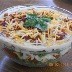Seven Layer Salad Allrecipes.com