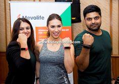 Lauren Gottlieb at the launch #MevolifeFitnessApp #KhyatiMahajan #KiratDamani