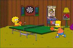 Bart and Lisa Simpson ; )