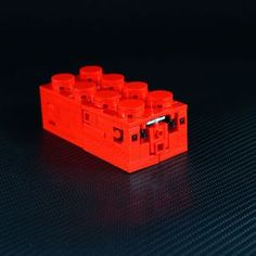What at first looks like a generic, classic red 2x4 brick with tiny holes on it, is a bit more exciting inside.