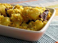 Aloo Posto (Poppy seed with potato)   Heaven! :P