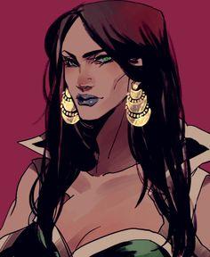 Anonymous said: Your art is so pretty! Could you draw the new version of Talia Al Ghul? Talia Al Ghul, Black Girl Art, Art Girl, Dc Comics, Character Art, Character Design, Dc Icons, Batman Universe, Dc Universe