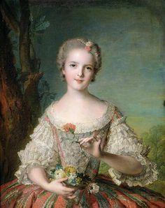 Portrait of Madame Louise de France   Jean Marc Nattier