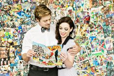 Comic Book Themed Anniversary Shoot | Mary Costa Photography