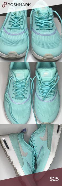 Nike tennis shoes Worn twice - few scraps Nike Shoes Sneakers
