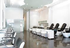 1000 images about salon and spa on pinterest nail bar for Abaka salon coral gables