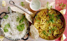 Jamie Oliver's cauliflower curry