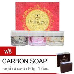 ขอแนะนำ  Princess Skin Care ครีมหน้าขาว ครีมหน้าเงา ครีมหน้าเด็ก แถมฟรีสบู่ดำดีท็อกซ์สิว Carbon Soap 50g.  ราคาเพียง  499 บาท  เท่านั้น คุณสมบัติ มีดังนี้ ช่วยปรับผิวให้ดูกระจ่างใส ลดฝ้ากระ จุดด่างดำ ทำให้หน้าขาวอย่างเป็นธรรมชาติ ผิวดูอ่อนเยาว์ดูสุขภาพดี