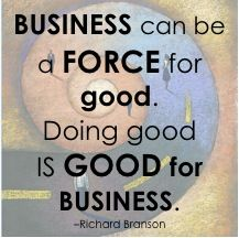 """How is YOUR company (large or small) """"Doing Good""""?"""