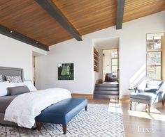 A Spanish Revival Bungalow With Dark-Wood Beamed Ceilings | LuxeSource | Luxe Magazine - The Luxury Home Redefined