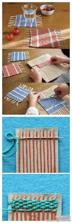 Diy Beautiful Tablemat | Click to see More DIY & Crafts Tutorials on Our Site.
