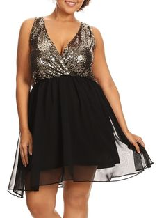 Dressed Up (Plus)-Great Glam is the web's best sexy plus size online store clothing website for 1X 2X and 3X clothes for women and juniors.