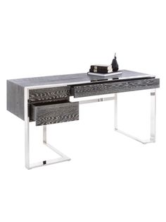 Dalmar Desk from From the Earth: Stone, Marble & Wood Furniture on Gilt