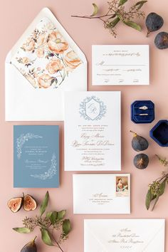 Delight your guests with these custom monogram wedding invitations. Whether your wedding is in the spring or summer, this romantic suite is a guaranteed guest favorite. #weddinginvitations #weddinginvites #springwedding #summerwedding #romanticweddings Monogram Wedding Invitations, Dusty Blue Weddings, Industrial Wedding, Romantic Weddings, Wedding Inspiration, Wedding Ideas, Wedding Vendors, Spring Wedding, Wedding Flowers