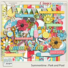 Summertime : Park and Pool