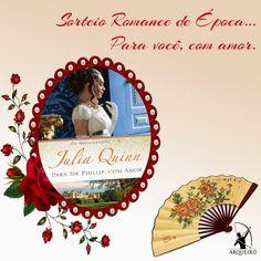 SEMPRE ROMÂNTICA!!: Sorteio Romance de Época... Para você, com amor.