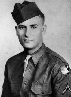 William D. McGee, Private, United States Army, awarded the Medal of Honor for actions in World War II