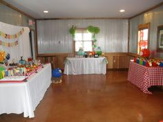 angry bird party tables