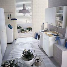 Bathroom Laundry Room Idea