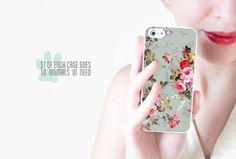 Floral iPhone Case / Floral iPhone 5 Case Floral by afterimages