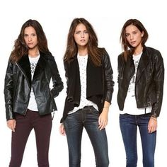 Beautiful Leather Jackets For Girls
