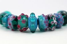 Designer Lampwork Beads by Beadscrumptious Delightful Lampwork Beads Blog Post www.beadscrumptious.co.uk