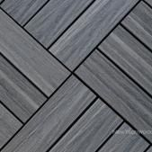 Composite Deck Tiles Quick Ultrashield Naturale Straight Trim In Spanish Walnut Pinterest Decking