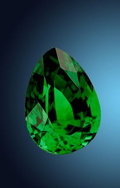 One of the rarest & most prized garnets in jewelry today is this brilliant green variety of grossular garnet called tsavorite. Tsavorite was first discovered in 1967 in northern Tanzania. Tiffany launched a marketing campaign in 1974 that brought recognition to the beautiful green gem. With the Tiffany & Co. Foundation Endowment, the Smithsonian was able to acquire this important 15.93-carat tsavorite garnet that exhibits the highly-prized vivid green color.