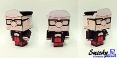 Carl paper craft - UP movie