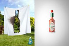 Tabasco HOT by Alessio Criscuoli, via Behance Tabasco Pepper, Dont Drink And Drive, Restaurant Dishes, Print Design, Graphic Design, Steak, Poster Prints, Design Inspiration, Valentines