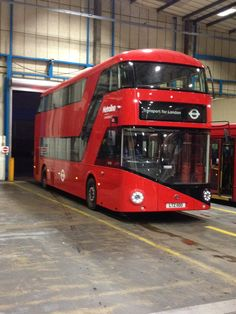 We have now taken delivery of 100 New Bus for London vehicles – another 500 of these green buses will follow.