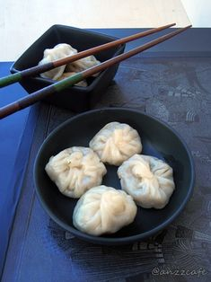 Steamed Chicken / Vegetable Momo with Spicy Momo sauce ..!